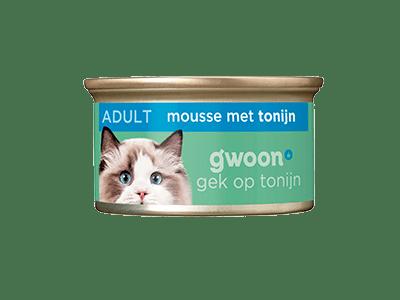 g'woon mousse met tonijn 85 gram