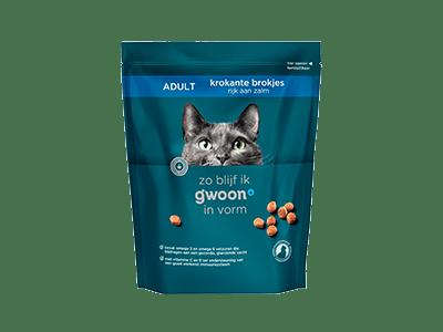 g'woon krokante brokjes zalm adult 800 gram