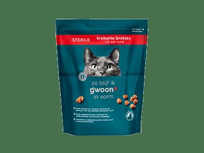 g'woon krokante brokjes rund sterile 800 gram