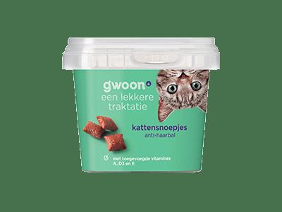 g'woon kattensnoepjes anti-haarbal 75 gram