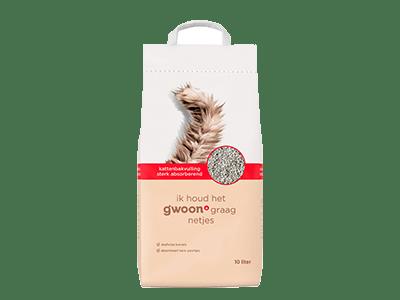 g'woon kattenbakvulling sterk absorberend 10 liter