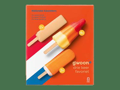 g'woon Hollandse klassiekers 8 stuks