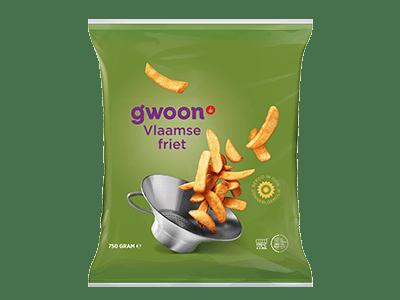 g'woon Vlaamse frites 750 gram