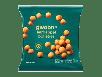 g'woon aardappelbolletjes 600 gram