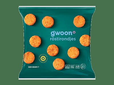 g'woon röstirondjes 600 gram