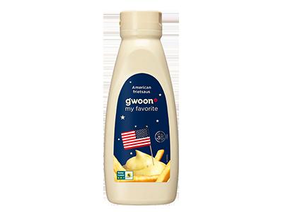 g'woon American frietsaus 750 ml