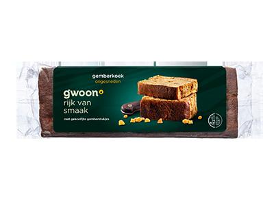 g'woon gemberkoek ongesneden 475 gram