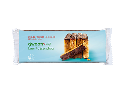 g'woon minder suiker koekreep 5 stuks