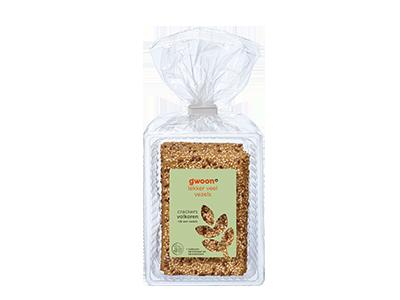 g'woon crackers volkoren 200 gram