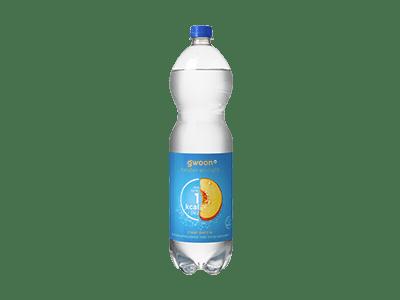 g'woon clear perzik 1,5 liter