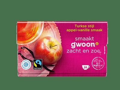 g'woon Turkse stijl appel-vanille smaak 20 kopjes