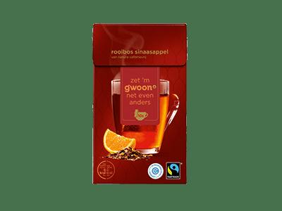 g'woon luxe rooibos sinaasappel 10 kopjes