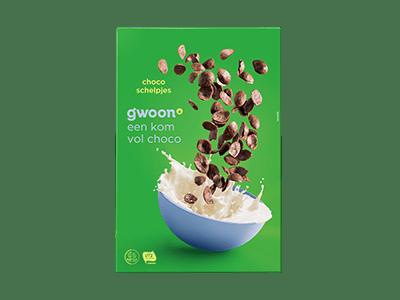 g'woon chocoschelpjes 375 gram