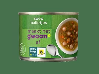 g'woon soepballetjes