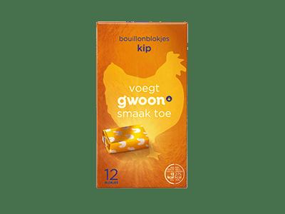 g'woon bouillonblokjes kip 12 blokjes