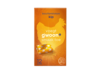 g'woon bouillonblokjes kip