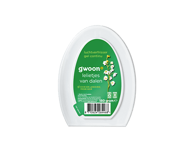 g'woon lelietjes van dalen luchtverfrisser gel continue 180 gram