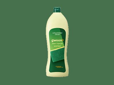 g'woon schuurmiddel citroen 750 ml