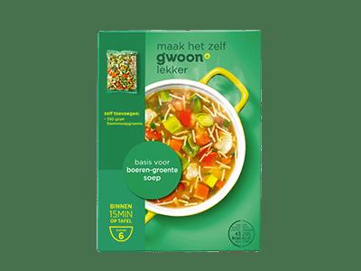 g'woon basis voor boeren-groentesoep