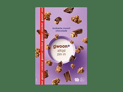 g'woon krokante muesli chocolade