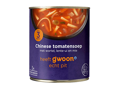 g'woon Chinese tomatensoep 800 ml