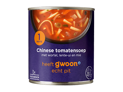 g'woon Chinese tomatensoep 300 ml