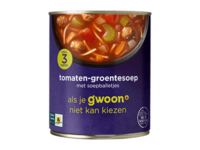 g'woon tomaten-groentesoep