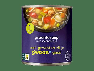 g'woon groentesoep 300 ml