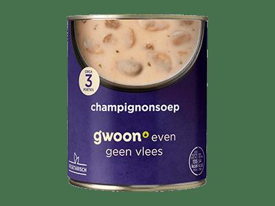g'woon champignonsoep 800 ml