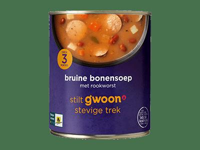 g'woon bruine bonensoep 800 ml