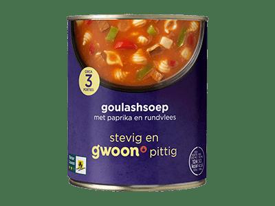 g'woon goulashsoep 800 ml