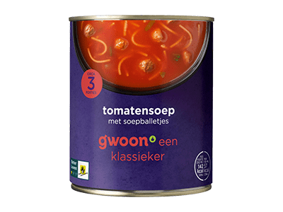 g'woon tomatensoep
