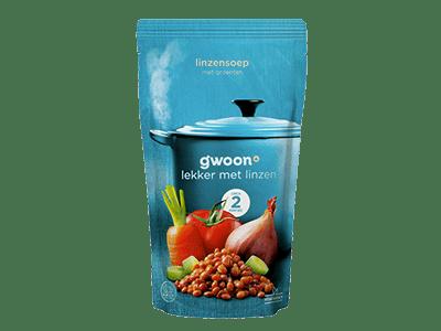 g'woon linzensoep 570 ml