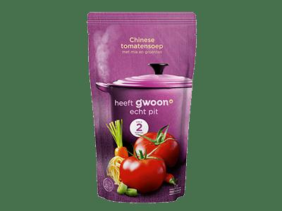 g'woon Chinese tomatensoep 570 ml