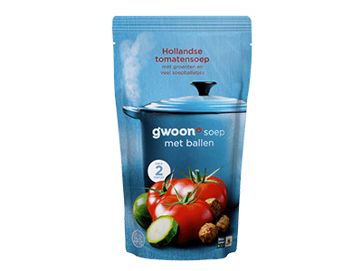 g'woon Hollandse tomatensoep 570 ml