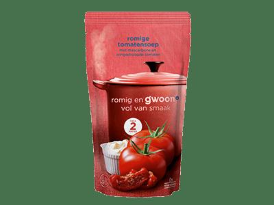 g'woon romige tomatensoep 570 ml