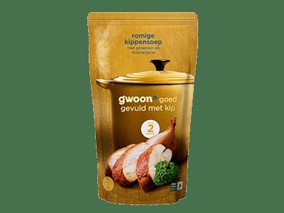 g'woon romige kippensoep 570 ml