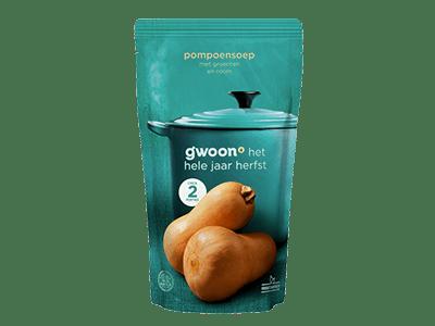 g'woon pompoensoep 570 ml
