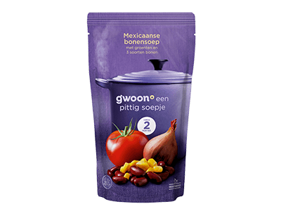 g'woon Mexicaanse bonensoep 570 ml