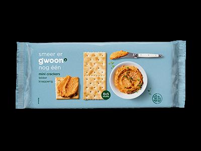 g'woon mini crackers 250g