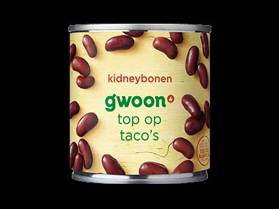 g'woon kidneybonen 200g