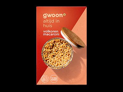 g'woon volkoren macaroni 500g