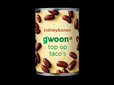 g'woon kidneybonen 400g