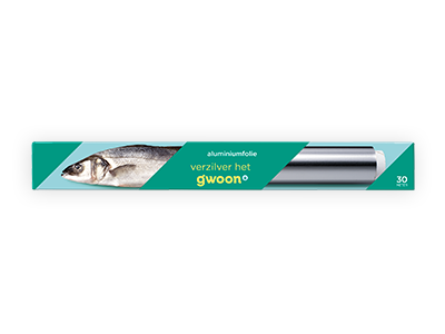 g'woon aluminiumfolie 30m