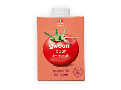 g'woon gezeefde tomaten 500g