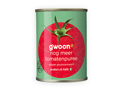 g'woon tomatenpuree 140g