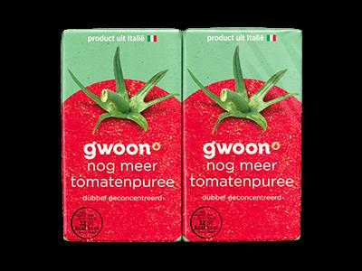 g'woon tomatenpuree 560g