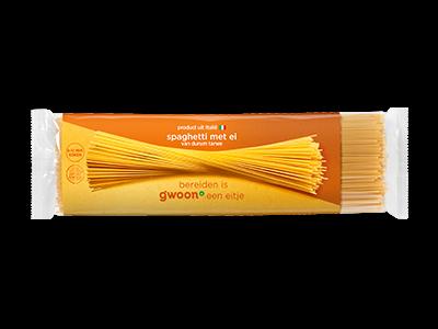 g'woon spaghetti met ei 500g