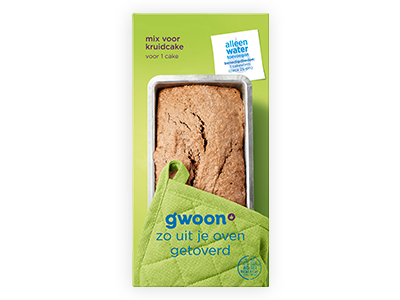 g'woon kruidcake mix 450g