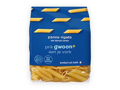 g'woon penne rigate 500g